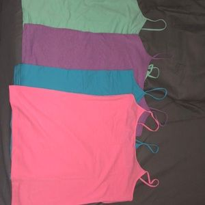 No Boundaries Tops - 4 - Bright Colored Tank Tops